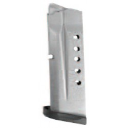 SMITH & WESSON MAGAZINE M&P40 SHIELD 6-ROUNDS S/S-BLACK