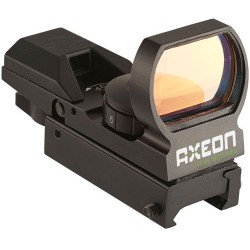 AXEON REFLEX SIGHT W/4 RED CHANGABLE RETICLES