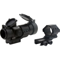 BSA 1X30MM RED DOT SIGHT 5-M.O.A. DOT BLACK MATTE