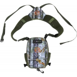 ATHLON BINOCULAR HARNESS W/MAGNETIC CLOSURE CAMO