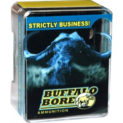 BUFFALO BORE AMMO .32SMITH & WESSON LONG 100GR. LEAD WAD CUTTER 20-PACK