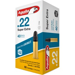 AGUILA AMMO .22LR CASE LOT STAND VEL. 40GR LDRN 2000RD CS