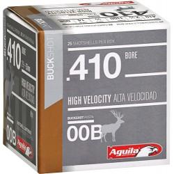 AGUILA SHOTSHELL .410GA. 00BK. 25-PACK