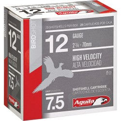 AGUILA SHOTSHELL 12GA. 1 1/4OZ #7.5 25-PACK