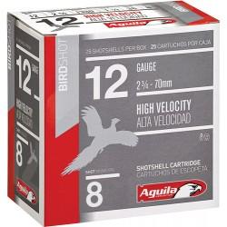 AGUILA SHOTSHELL 12GA. 1 1/4OZ #8 25PACK