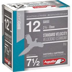 AGUILA SHOTSHELL 12GA. 1 1/8OZ #7.5 25-PACK