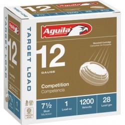 AGUILA SHOTSHELL 12GA 1OZ. #7.5 25-PACK