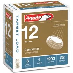 AGUILA SHOTSHELL 12GA. 1OZ. #8 25-PACK