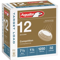 AGUILA SHOTSHELL 12GA. HDCP 1 1/8OZ #7.5 25-PACK