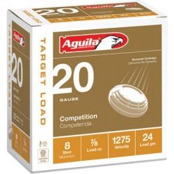 AGUILA SHOTSHELL 20GA. 7/8OZ #8 25-PACK