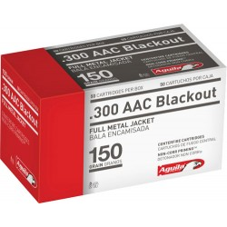 AGUILA AMMO .300AAC BLACKOUT 150GR. FMJ 50-PACK