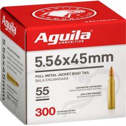 AGUILA AMMO 5.56x45 55GR. FMJ 300-BOX
