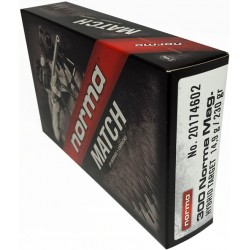 NORMA AMMO .300 NORMA MAG 230GR. BERGER 20-PACK