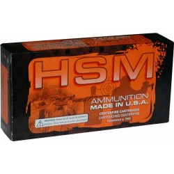 HSM AMMO .218 BEE 50GR. V-MAX 50-PACK