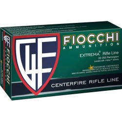 FIOCCHI .22-250 REM. 55GR. V MAX 20-PACK