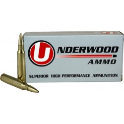 UNDERWOOD AMMO .223REM 55GR. CONTROLLED CHAOS 20-PACK