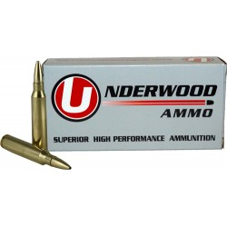 UNDERWOOD AMMO .22-250 REM 38GR. CONTROLLED CHAOS 20-PACK