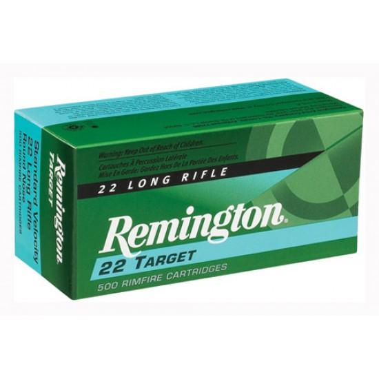 REMINGTON AMMO .22 LONG RIFLE 50-PK STD. VELOCITY TARGET 40GR. RN
