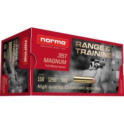 NORMA AMMO .357 MAGNUM 158GR. FMJ 50-PACK