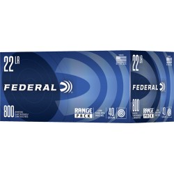 FED AMMO .22LR 1200FPS. 40GR. LRN 800-PACK