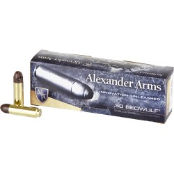 ALEXANDER AMMO .50 BEOWULF 200GR. POLYCASE ARX 20-PACK