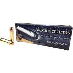 ALEXANDER AMMO .50 BEOWULF 350GR. ROUND SHOULDER 20-PACK