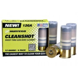 CLEANSHOT SHOOT THROUGH GUN BORE CLEANER 12 GA. 4-PACK