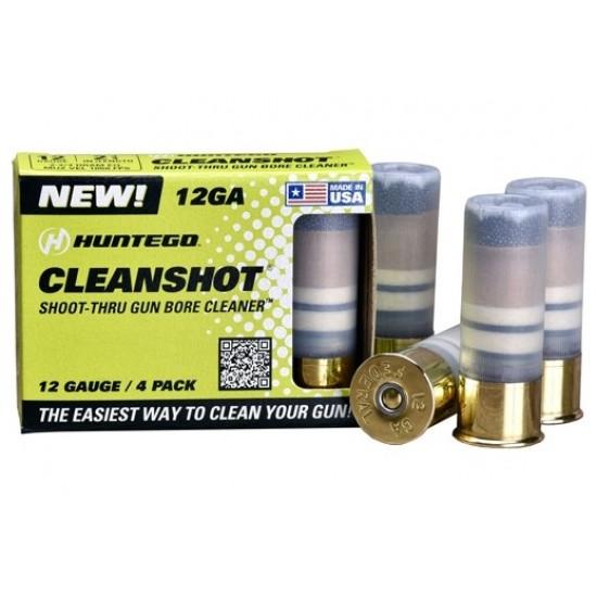 CLEANSHOT SHOOT THROUGH GUN BORE CLEANER 12 GA. 4-PACK
