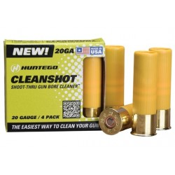 CLEANSHOT SHOOT THROUGH GUN BORE CLEANER 20 GA. 4-PACK
