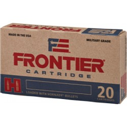 FRONTIER AMMO .223 REMINGTON 55GR. FMJ 20-PACK