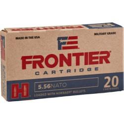 FRONTIER AMMO 5.56 NATO 55GR. HPBT MATCH 20-PACK