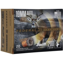 FED AMMO 10MM 200GR. A-FRAME JHP 20-PACK