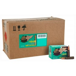 BROWN BEAR 7.62 X 39 125GR. SP POLYMER COATED 500 ROUND CASE