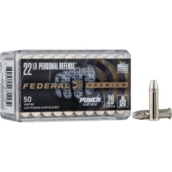 FED AMMO .22LR PUNCH 29GR. FN 50-PACK