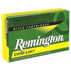 REMINGTON AMMO .308 WINCHESTER 150GR. PSP CORE-LOKT 20-PACK