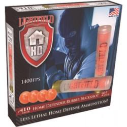 """LIGHTFIELD .410 2-1/2"""" 4 BALL RUBBER BUCK 5-PACK"""