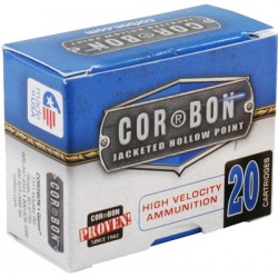 CORBON AMMO .38 SPECIAL+P 125GR. JHP 20-PACK