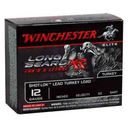 "WINCHESTER AMMO LONG BEARD XR 12GA. 3"" 1200FPS. SHOT-LOK 1.75OZ #5"