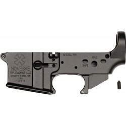 NOVESKE GEN 1 STRIPPED LOWER RECEIVER AR-15 BLACK