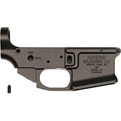 NOVESKE GEN 3 BILLET STRIPPED LOWER RECEIVER AR-15 BLACK