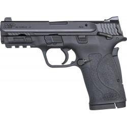 SMITH & WESSON SHIELD M2.0 M&P .380 ACP EZ BLACKENED SS/BLACK THUMB SAFETY