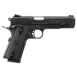 "TAURUS 1911 .45 ACP 5"" FS 8-SH BLUED CHECKERED SYNTHETIC"