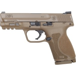 S&W M&P9 M2.0 COMPACT 9MM FS 15-SHOT ARMORNITE FDE POLY