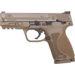 S&W M&P9 M2.0 COMPACT 9MM FS 15-SHOT W/THUMB SAFETY POL FDE
