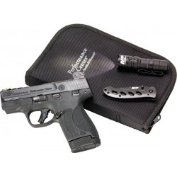 """S&W PC M&P9 SHIELD PLUS 9MM 3.1"""" EDC KIT PORTED FO SGT 13/10 RD"""