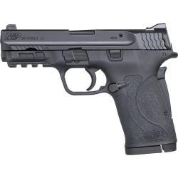 SMITH & WESSON SHIELD M2.0 M&P .380 ACP EZ BLACKENED SS/BLACK NO THUMB SAFETY