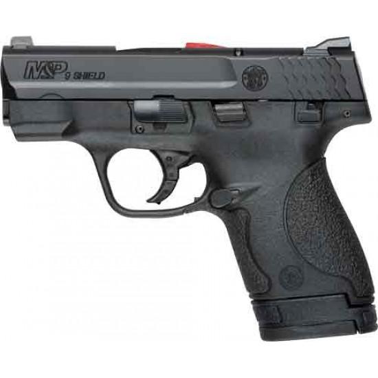 S&W SHIELD M&P9 9MM LUGER FS BLACKENED SS/BLACK
