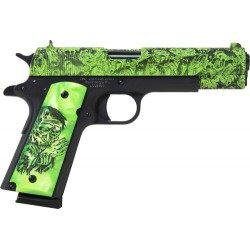 "IVER JOHNSON 1911A1 .45 ACP 5"" FS 8RD ZOMBIE EDITION"