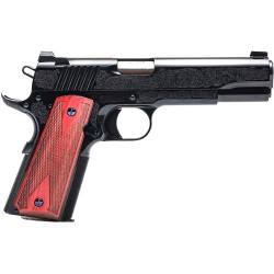 STAND MANU 1911 45 ACP CASE BLUED #1 ENGRAVING