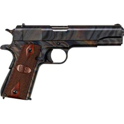 AUTO-ORDNANCE GI 1911A1 .45ACP CASE HARDENED FIXED WOOD